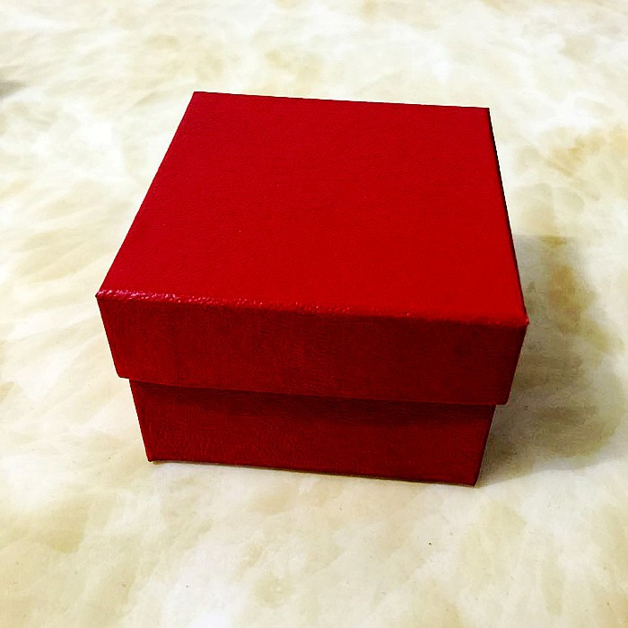 Paper watch storage box