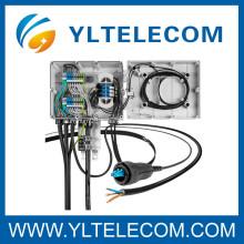 LC fibre optique patch cord éclater de 4,8 mm câble utilisé pour la distribution en réseau Ericsson