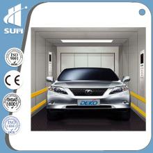 Ascenseur de voiture de vitesse 0.5m / S avec cabine en acier peint