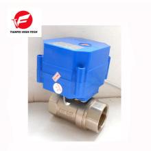 Vanne de contrôle de flux électrique CWX-60p de laiton de 5V 12V DN20 DN15