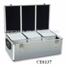 haute qualité & forte 630 CD disques CD boîtier aluminium gros