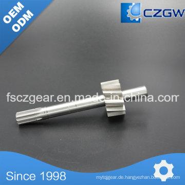 Hochpräzise kundenspezifische Getriebewelle Spline für verschiedene Maschinen