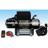 DC 12v/24v electric 6000lbs winch auto winch