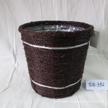 Coffee Sea Grass Flower Pot