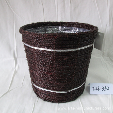 Factory Supplier for Seagrass Flower Pot Coffee Sea Grass Flower Pot supply to United States Manufacturers