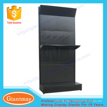 metal digging tools display hardware rack with pegboard
