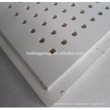 Placa de gesso perfurada para teto 12mm