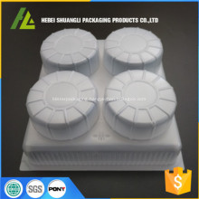 food grade plastic steamed stuffed bun tray