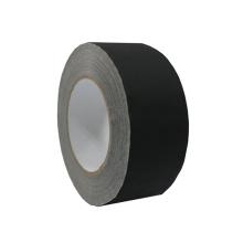Fita adesiva de tecido fosco branco fosco de lado único para serviço pesado sem resíduos para câmera de palco