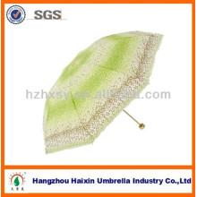 190T Pongee Regenschirm Stoff 100 % Polyester 3 Fach indische Regenschirm