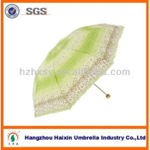 190T Pongee Umbrella Fabric 100% Polyester 3 Fold Indian Umbrella