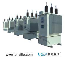 Condensador de tres fases montado en exteriores