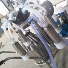 Single Barrel Mobile Milking Machine for USA