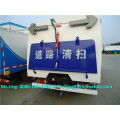 Mini road sweeper truck price, 4*2 new vacuum road sweeper 3-5 ton on sale