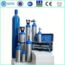 2014 hoher Druck nahtloser persönlicher Sauerstoff-Aluminiumzylinder (LWH180-10-15)