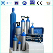 2014 High Pressure Seamless Aluminum Personal Oxygen Cylinder (LWH180-10-15)