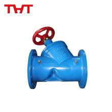 Função de bloqueio digital Flanged Ductile function flow balance valves