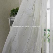 100% Polyester Jacquard Sheer Vorhang