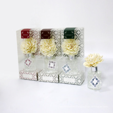sola flower 30ml reed diffuser in glass in box for home