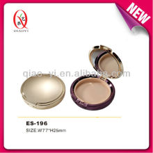 ES-196 round compact with mirror