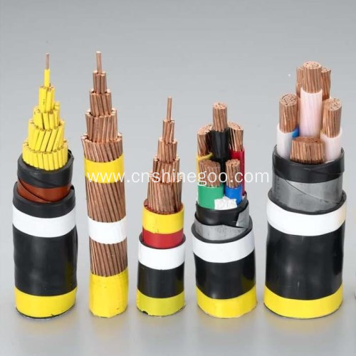 XLPE insulated electrical cable for rated voltage 3.6/6kV-26/35kV