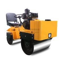 Mini compactador de rodillo de construcción de asfalto de ventas calientes