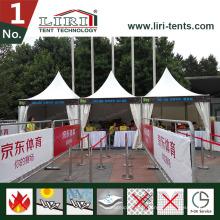 Tente de famille de tente de jardin de tente de tente de Pagoda en gros pour 10-100 personnes