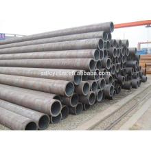 Material ASME 1020 schedule40 tubería de acero de estructura de carbono