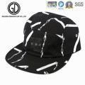 Gran gorra de Snapback del campista de la impresión del sombrero 2016 con el logotipo de cuero