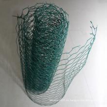 Malla de alambre hexagonal animal
