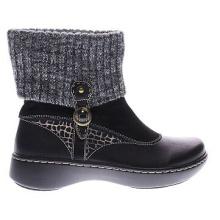 Prepárate para botas de invierno de cuero y ante en clima frío