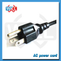 Factory Wholesale USA nema female end type	power cord