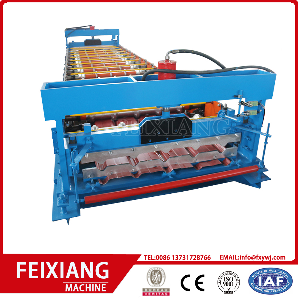 Color Steel Wall Panel Roll Forming Machine