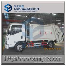Compactor Garbage Truck 8 M3 4X3 Isuzu Refuse Truck