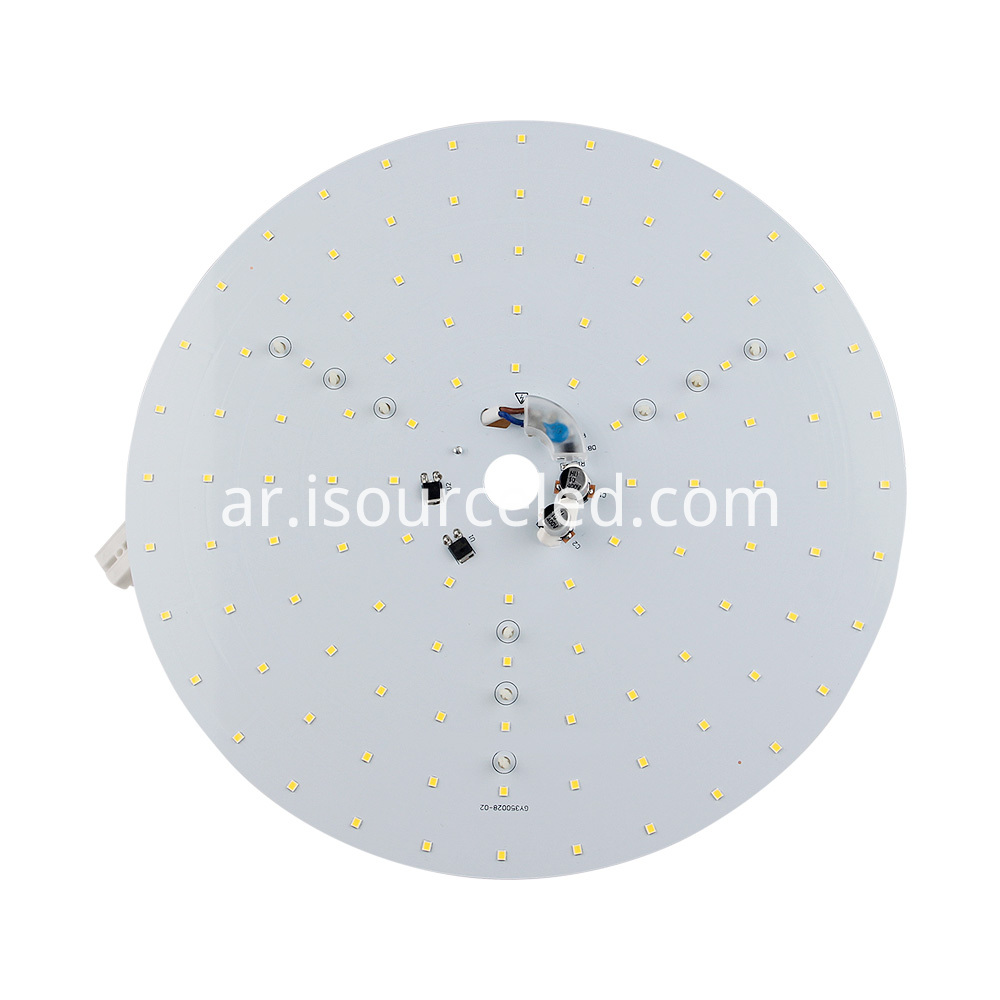 Frontal picture of Smd 2835 Warm White 35W AC LED Module