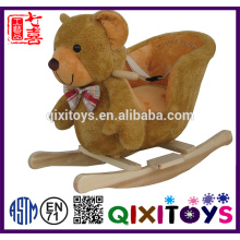 Hot sale children toy plush rocking horse