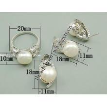 Gets.com 2015 jóias 925 prata esterlina conjunto 925 cobra