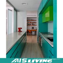 Portas de gabinete de cozinha usadas de cor dupla (AIS-K176)