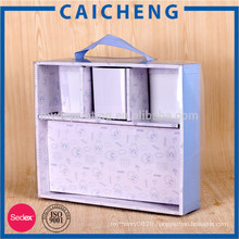 High quality pvc cover slot babywear clothes packaging box
