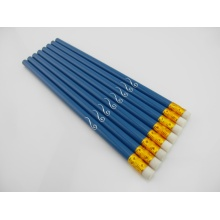 sketch wooden pencil with erasers