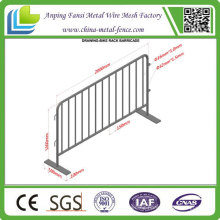 Hot Dipped Galvanized Used Concert Metal Crowd Control Barrier