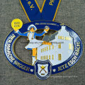 High Quality Ribbon Neck Lanyard Carnival Medal