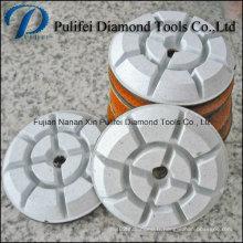 Outils de meulage de plancher Tampon de résine de diamant pour Terrazzo en pierre concrète