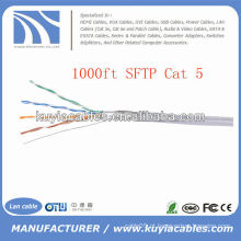 1000FT 4pairs Cat5 Rede Cabo SFTP