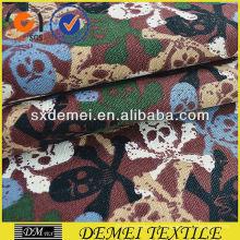 impresos textiles tela cráneo algodón poliester