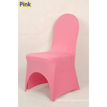 wedding decoration chair cover,lycra chair cover,fit all banquet chairs,high quality,pink