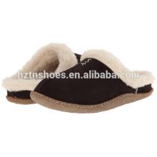 Slipper barato chinelos de casa de inverno para homens