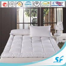 Waterproof Down Feather Fill Mattress Topper Bed Mattress Pad