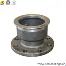 Hohe Qualität Shell Mold Casting Sphäroguss Rohrflansch