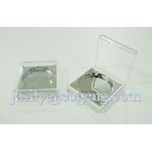 small square shape single color eyeshadow case
